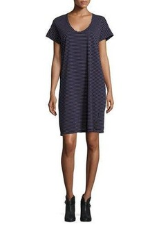 Current/Elliott The Slouchy Scoop-Neck T-Shirt Dress