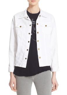 Current/Elliott 'The Snap' Stretch Denim Jacket