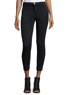 Current/Elliott The Station Agent Cropped Skinny Jeans