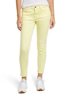 Current/Elliott The Stiletto Ankle Skinny Jeans (Acid Yellow)