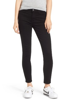 Current/Elliott The Stiletto Ankle Skinny Jeans (Clean Stretch Black)