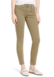 Current/Elliott The Stiletto Ankle Skinny Jeans (Covert Green)