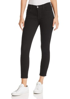 Current/Elliott The Stiletto Ankle Skinny Jeans in 0 Clean Stretch Black