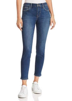Current/Elliott The Stiletto Ankle Skinny Jeans in 1 Year Worn Stretch Indigo