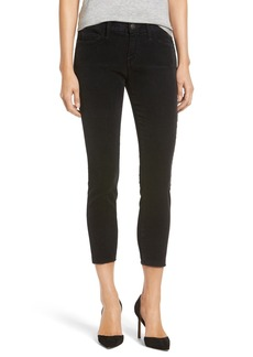 Current/Elliott 'The Stiletto' Crop Skinny Corduroy Pants