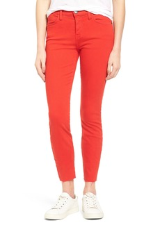 Current/Elliott The Stiletto Crop Skinny Jeans (Racing Red)
