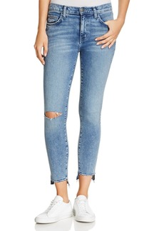 Current/Elliott The Stiletto High-Rise Jeans in Balsa Destroy