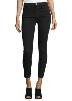 Current/Elliott The Stiletto High-Waist Ankle Jeans