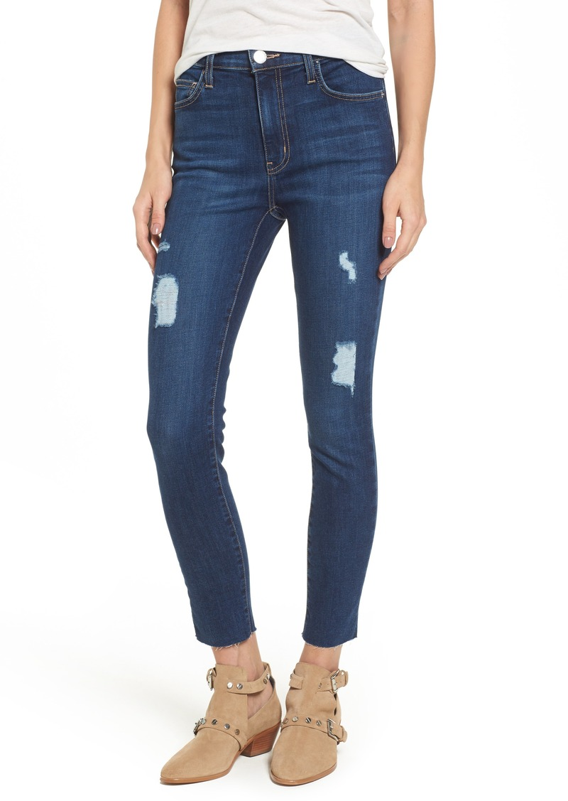 Current/Elliott The Stiletto High Waist Ankle Skinny Jeans (Great Love Destroy)