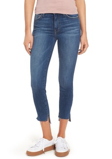 Current/Elliott The Stiletto High Waist Skinny Jeans (Divina with Uneven Hem)