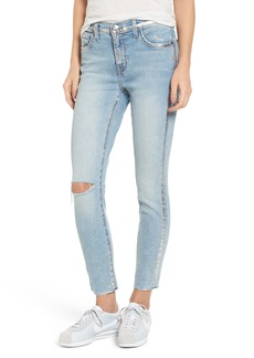 Current/Elliott The Stiletto High Waist Skinny Jeans (Seville Destroy Foil)