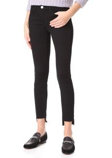 Current/Elliott The Stiletto Jeans with Uneven Hem