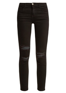 Current/Elliott The Stiletto low-rise super-skinny jeans