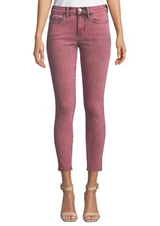 Current/Elliott The Stiletto Mid-Rise Ankle Skinny Jeans