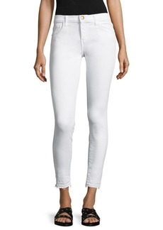 Current/Elliott The Stiletto Skinny Raw Hem Ankle Jeans