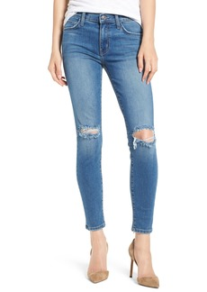 Current/Elliott The Stiletto Ripped Skinny Jeans (2 Year Destroy)