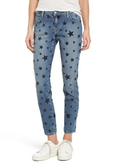 Current/Elliott The Stiletto Skinny Jeans (Flocked Star)