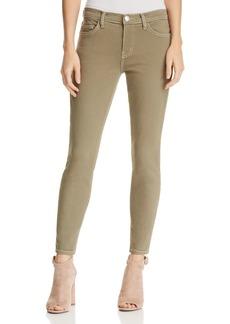 Current/Elliott The Stiletto Skinny Jeans in Covert Green