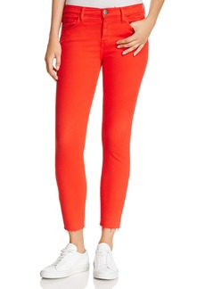 Current/Elliott The Stiletto Skinny Jeans in Racing Red