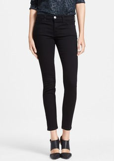 Current/Elliott 'The Stiletto' Skinny Jeans (Jet Black)