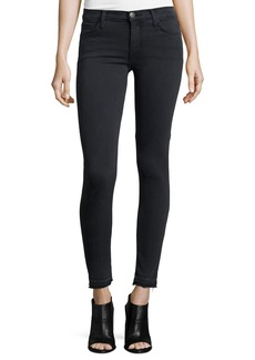 Current/Elliott The Stiletto Skinny Raw-Hem Jeans