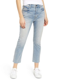Current/Elliott The Stovepipe High Waist Raw Hem Jeans (Dream Lake)