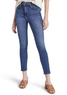 Current/Elliott The Super High Waist Stiletto Crop Skinny Jeans (Morning Side)