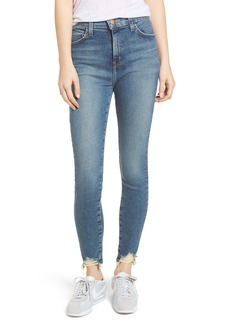 Current/Elliott The Super High Waist Stiletto Skinny Jeans (Harvey Destroy)