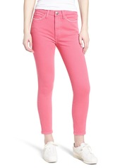 Current/Elliott The Ultra High Waist Ankle Skinny Jeans (Fandango Pink)
