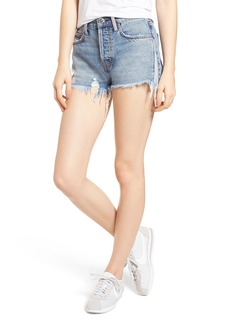 Current/Elliott The Ultra High Waist Cutoff Denim Shorts (Branwen Destroy)