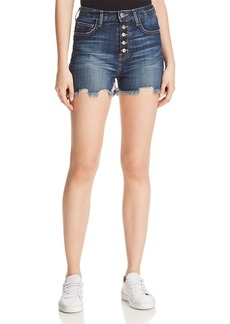 Current/Elliott The Ultra High-Waist Denim Shorts in Belloc