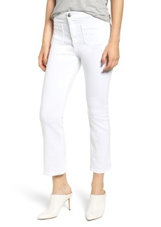 Current/Elliott The Ultra High Waist Kick Flare Jeans (Sugar)
