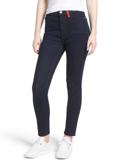 Current/Elliott The Ultra High Waist Skinny Jeans (Turley with Color Blocking)