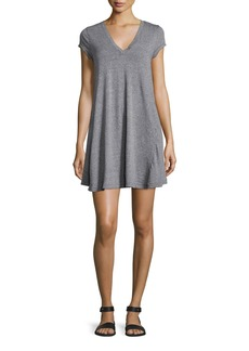 Current/Elliott The V-Neck Trapeze Dress