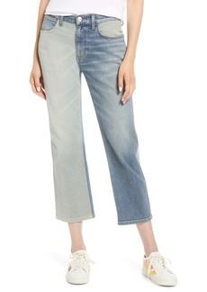 Current/Elliott The Vanessa Crop Straight Leg Jeans (Two Faced)