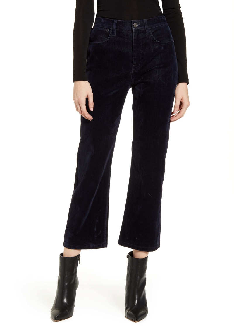 Current/Elliott The Vanessa Cropped Wide Leg Jeans