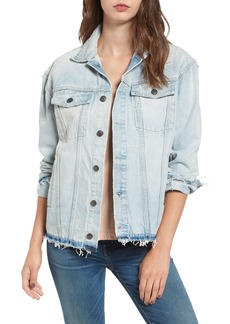 Current/Elliott The Vintage Boyfriend Denim Trucker Jacket