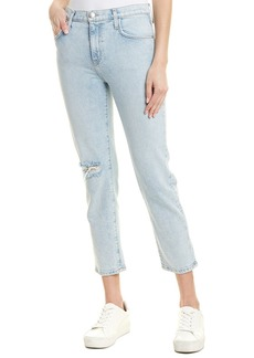 Current/Elliott The Vintage Cropped Jean Century Destroy Straight Leg