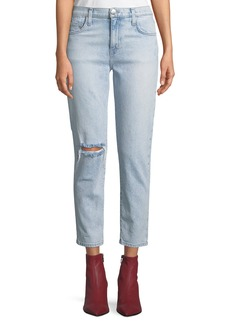 Current/Elliott The Vintage Cropped Slim-Leg Jeans