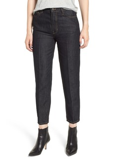 Current/Elliott The Vintage High Waist Crop Slim Jeans (Denuded)