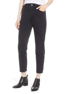 Current/Elliott The Vintage High Waist Crop Slim Jeans (Felder)