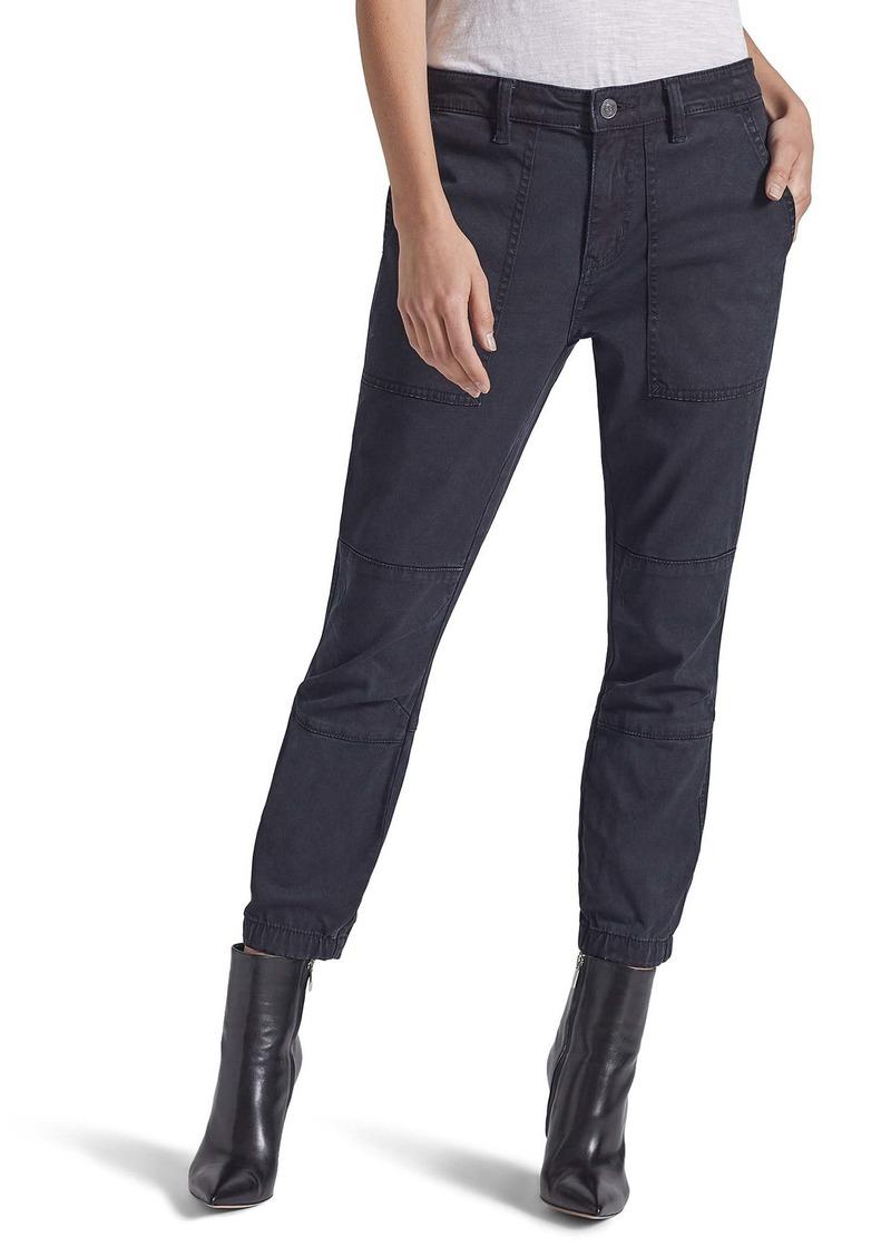 Current/Elliott The Weslan Cotton Blend Pants