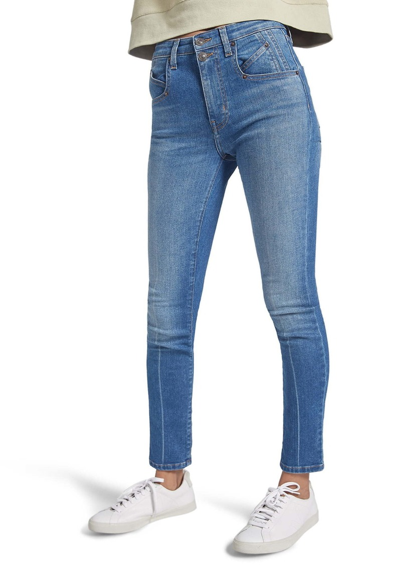 Current/Elliott The Whitby High Waist Skinny Jeans (Daphne)