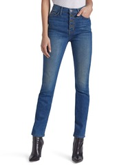 Current/Elliott The Zig-Zag Morris High Waist Skinny Jeans (Mina)
