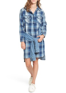 Current/Elliott Twist High/Low Shirtdress