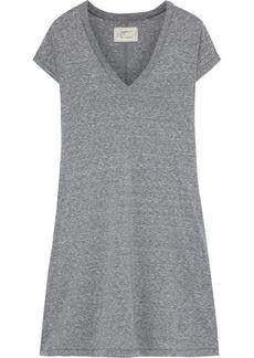Current/elliott Woman Mélange Jersey Mini Dress Gray