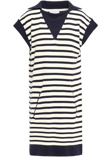Current/elliott Woman The Elsie Striped Cotton Dress Ecru