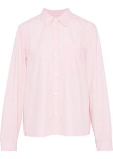 Current/elliott Woman The Ivie Cotton-poplin Shirt Baby Pink
