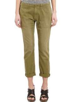 Current/Elliott Women's Army Buddy Trousers