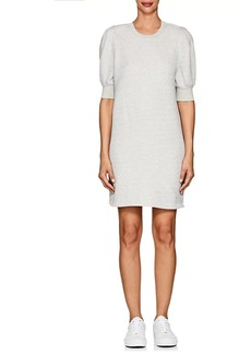 Current/Elliott Women's Cotton-Blend Terry Sweatshirt Dress